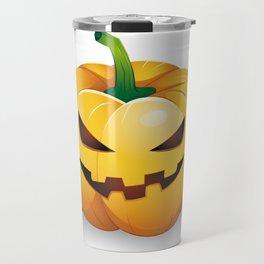 pumpkin head Travel Mug
