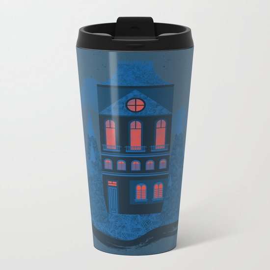 Blue Monday Metal Travel Mug