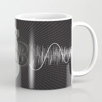 bass Mugs featuring Bomb Bass by Manny Peters Art & Design