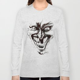 """Turn that Smile Upsidedown"" Long Sleeve T-shirt"