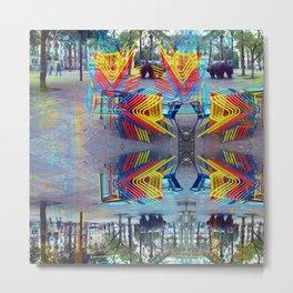 Akin to recalling, instead; understood mimicry. 10 Metal Print