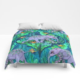 Little Elephant on a Jungle Adventure Comforters