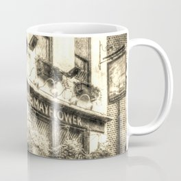The Mayflower Pub London Vintage Coffee Mug