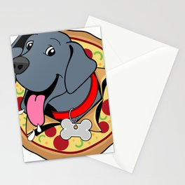 Pizza Puppy Stationery Cards