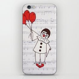 Clowning Around iPhone Skin