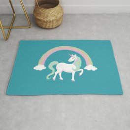 Look at me! I'm a Unicorn! Rug