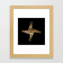 Saint Brigid's Cross Framed Art Print