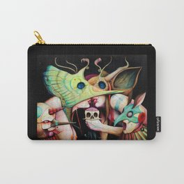 Gods & Buffoons || Cupid || Eye || Butterfly Carry-All Pouch