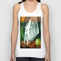 tennis Tank Tops featuring Tennis by Robin Curtiss