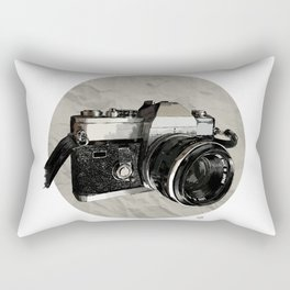 Vintage Camera Rectangular Pillow