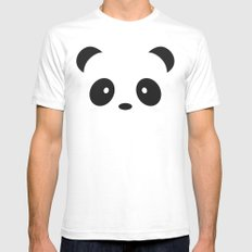 Panda Paul Mens Fitted Tee 2X-LARGE White