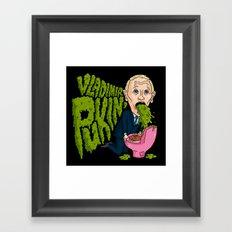 Vlad Pukin' Framed Art Print