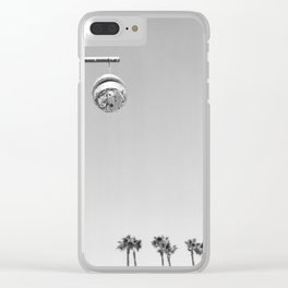 Silver Lake Ball Clear iPhone Case