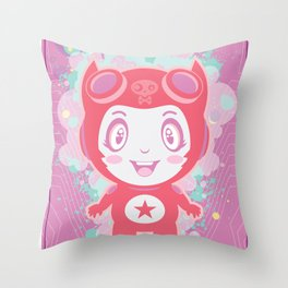 Bubbly! Throw Pillow
