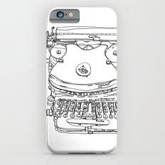 Typewriter Face Slim Case iPhone 6s
