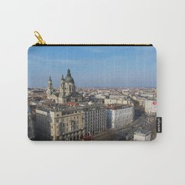 Panoramic view of Budapest and St. Stephen Basilica in Hungary Carry-All Pouch