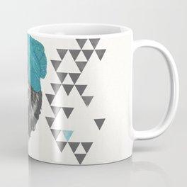 Zissou the bear in blue Coffee Mug
