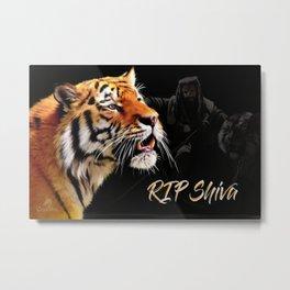 The Walking Dead - RIP Shiva Metal Print