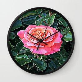 Trembling Flower of Enchantment Wall Clock