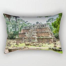 Phimeanakas Temple of Angkor Thom, Siem Reap, Cambodia Rectangular Pillow