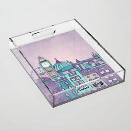 London Skyline Acrylic Tray