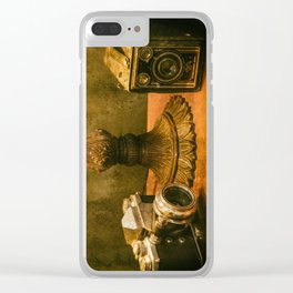 my old companions Clear iPhone Case