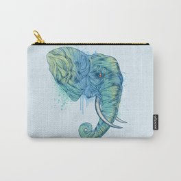 Elephant Portrait Carry-All Pouch