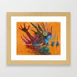 The Swamps Of Frigg Framed Art Print