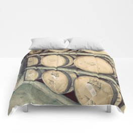 Kentucky Bourbon Barrels Color Photo Comforters