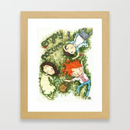 Enjoy nature Framed Art Print