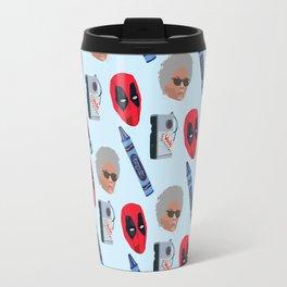 red hero Travel Mug