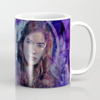 amy pond Mugs featuring Amy Pond by Sirenphotos