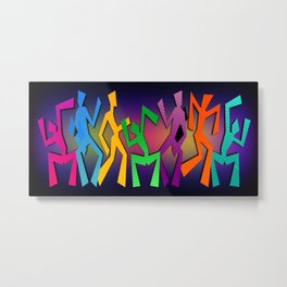 Dance Party Metal Print