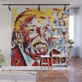 The Leader of the Free World is a Monster Wall Mural