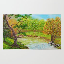 Family of Trees Rug