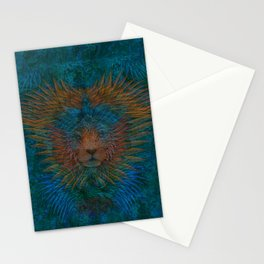 Lion Spirit Stationery Cards