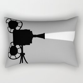 Movie Cine Projector Rectangular Pillow
