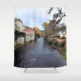 Small  Town Vibes Pt. 3 Shower Curtain