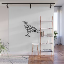 The Raven Wall Mural