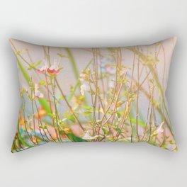 Field of Flowers Rectangular Pillow