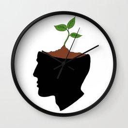Growing idea Wall Clock