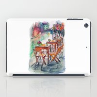 street iPad Cases featuring Street by Anastasia Tayurskaya