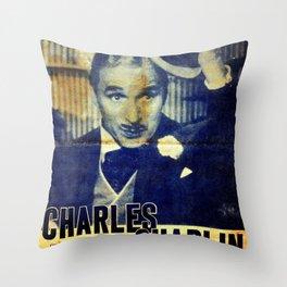 Monsieur Verdoux in Japan 1952 Throw Pillow
