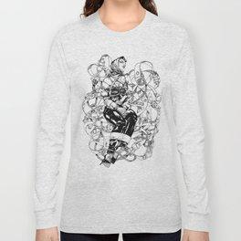 Lady in Belts Fantasy Long Sleeve T-shirt