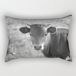 Baby Longhorn Rectangular Pillow