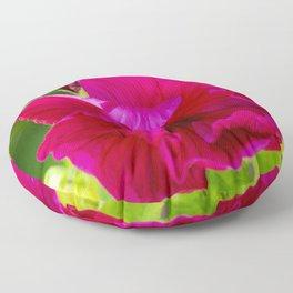 Jazzberry Jam Hibiscus Floor Pillow