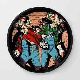 Last of Bros Wall Clock