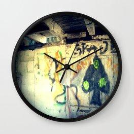 Spades - The Rural Graffiti Series Wall Clock