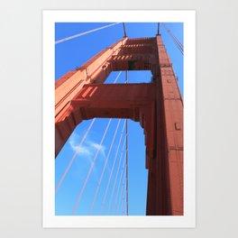 Golden Gate Bridge, San Francisco Art Print