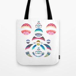 Powerful Womb Chi Love Geometry Tote Bag